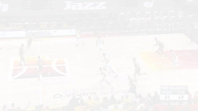 Picture for Utah Jazz | 3-pointer by Desmond Bane