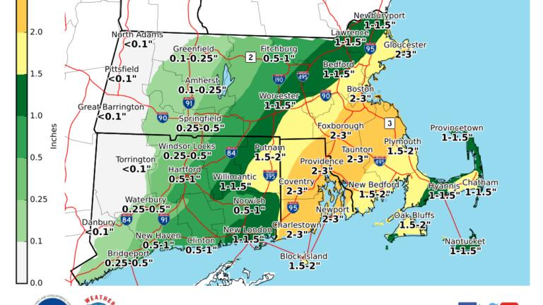 Picture for What Boston meteorologists are saying about the heavy rain overnight and Thursday