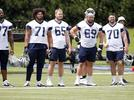 Picture for La'el Collins on his new physique, the Cowboys offensive line & much more