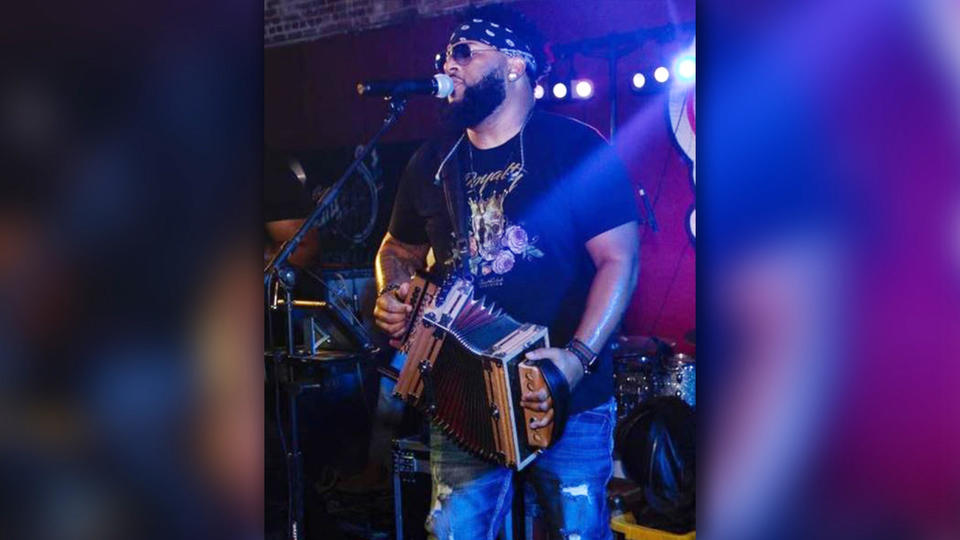Picture for Zydeco musician Chris Ardoin shot while performing at Louisiana concert