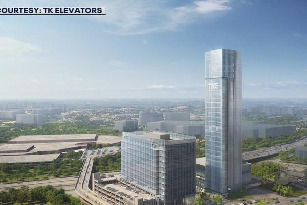 Picture for Continent's largest elevator test tower to open in Cobb County