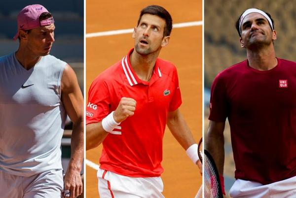 Picture for 'Roger Federer, Rafael Nadal and Djokovic are still...', says ATP star