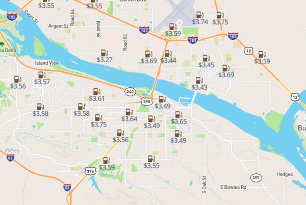Picture for Diesel price update: Prices for every station in Kennewick