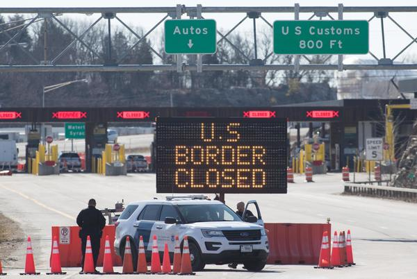 Picture for Franklin County reacts to border closure extension