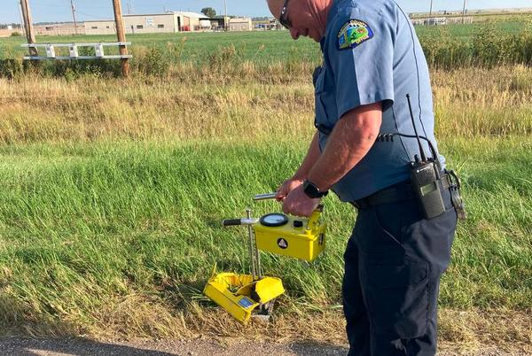 Picture for Truck drives over tool on Kansas highway, prompting search for radioactive pellet