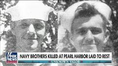 Cover for Indiana brothers who died in Pearl Harbor attack finally laid to rest, with honors, 80 years later