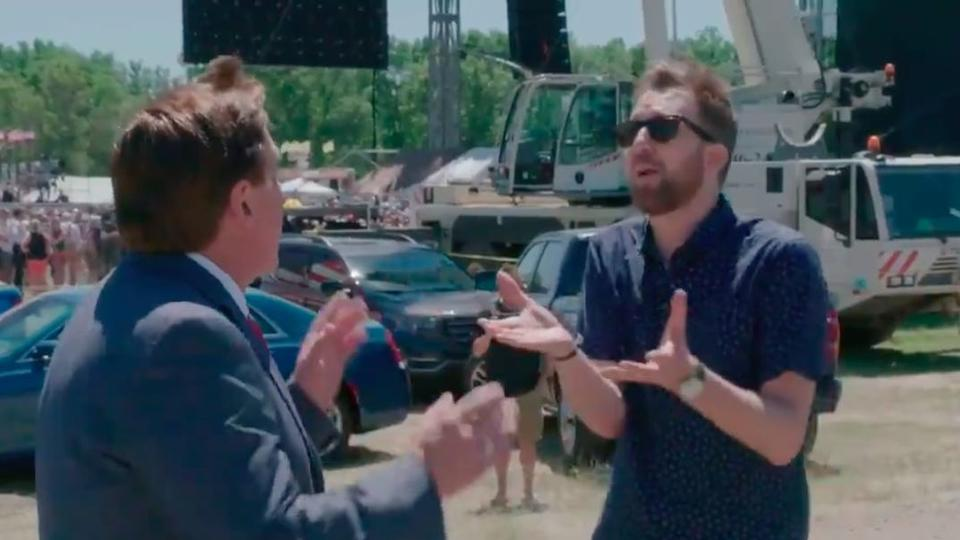 Picture for MyPillow CEO Mike Lindell walks out on Jordan Klepper after 'Daily Show' host grills him about his election conspiracy theories