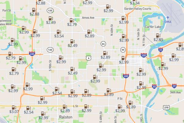 Picture for Save up to $0.60 per gallon - survey shows cheapest gas station in Omaha