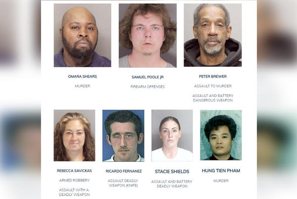Picture for Have you seen these people? Boston police update Most Wanted list