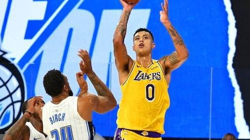 Lakers Scrimmage Highlights Kyle Kuzma Dion Waiters Stand Out Against Magic News Break