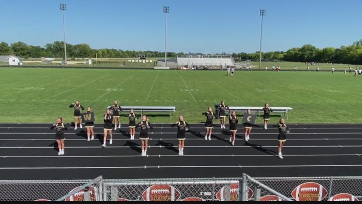 Cover for Operation Football Cheerleaders of the Week: Winchester Community High School