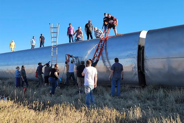 Picture for 3 dead, 7 hospitalized: What caused fatal Amtrak derailment in Montana? Federal investigation probe accident