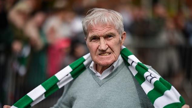 Picture for Celtic announce Lisbon Lion Bertie Auld, 83, is suffering from dementia as Chris Sutton and Moussa Dembele lead the messages of support