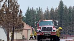 Cover for Douglas County Provides Services For Tamarack Fire Victims