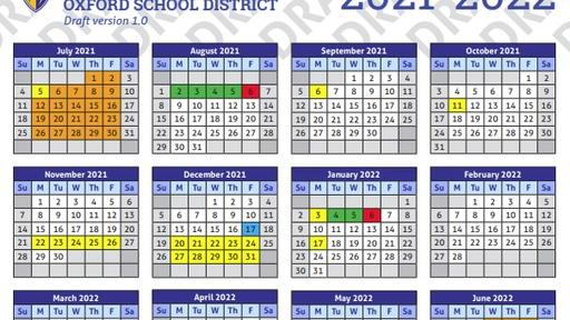 Osd Goes With More Traditional School Calendar For 2021 22 News Break