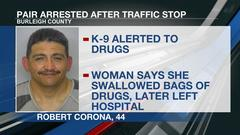Cover for Wanted: woman who left hospital after saying she swallowed bags of drugs
