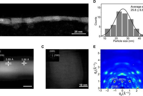 Picture for Efficient light-emitting diodes based on oriented perovskite nanoparticles