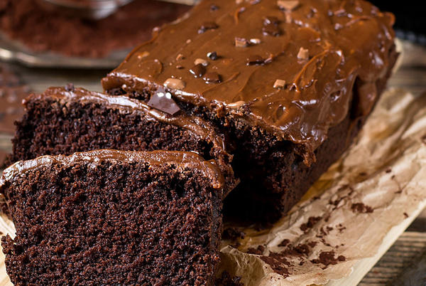 Picture for Fudgy Dark Chocolate Cake