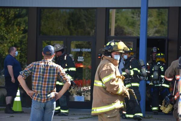 Picture for Unexpected lighting in dark Thomaston theater draws firefighter response