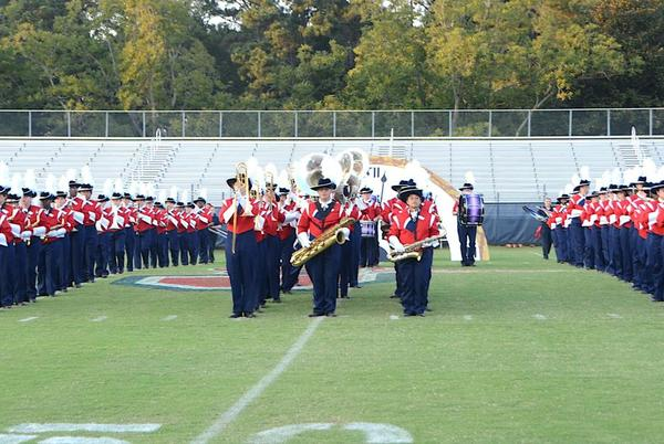 Picture for PHOTOS: Does anybody know what time it is? The Red Regiment does!