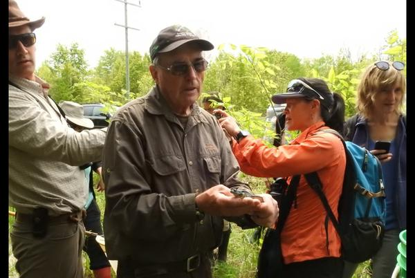 Picture for Lakehead's Master Naturalist Program offering nature journaling workshop