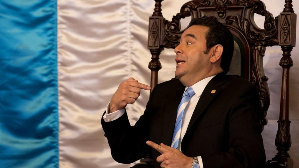 Picture for Guatemala prosecutors pursue ex-president Jimmy Morales