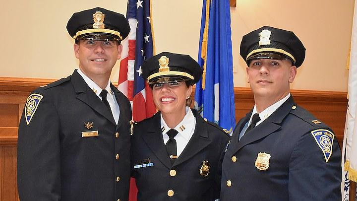 Picture for 3 New Captains Sworn In At City Hall