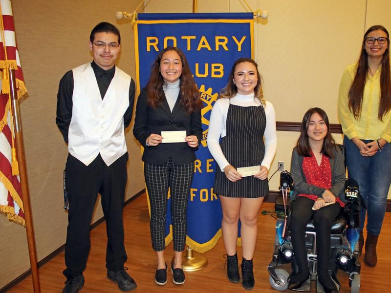 Five Students Participate In Local Rotary Speech Contest News Break