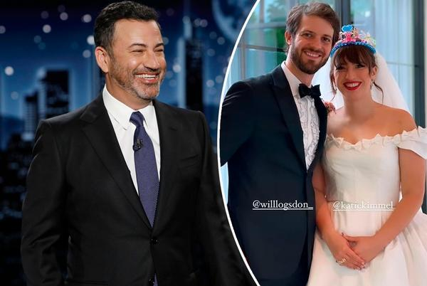 Picture for Jimmy Kimmel's daughter Katie marries Will Logsdon