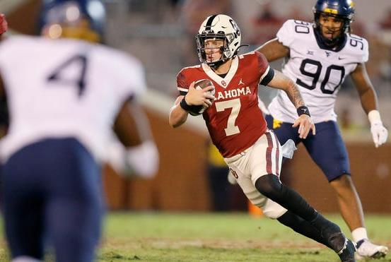 Picture for 'Ungrateful': OU football alum Tre Brown calls out fans for booing Spencer Rattler