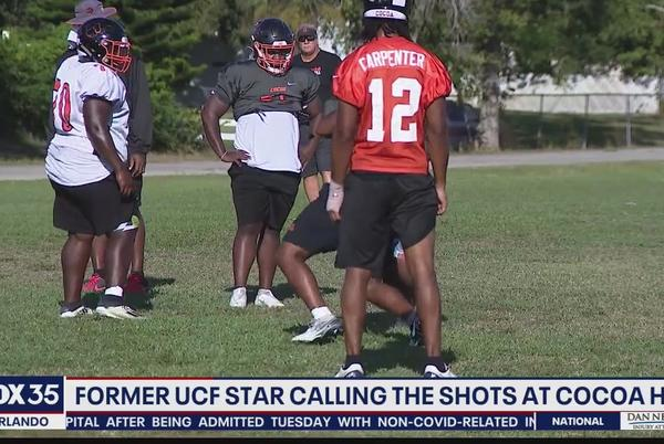 Picture for Former UCF star calling shots for Cocoa High football
