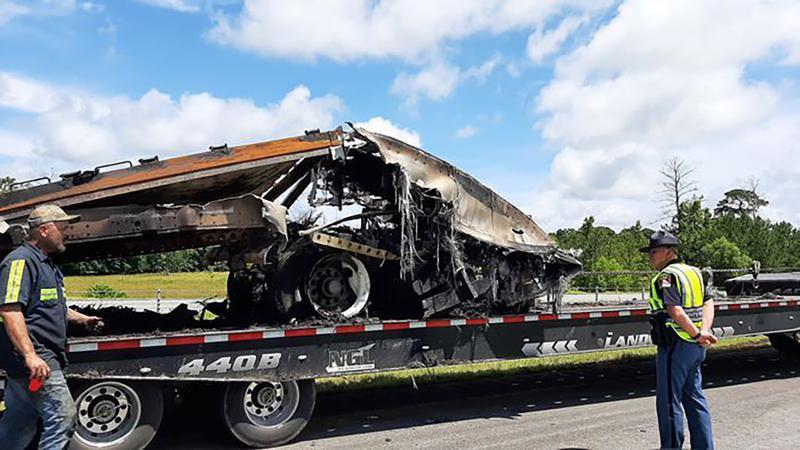 Picture for Some expressed concern about road safety at fatal wreck site