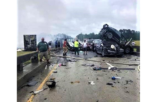 Picture for Lawsuit filed against trucking companies for I-65 crash that killed 10