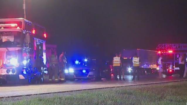 Cover for 1 person dead after crash that shut down all lanes of I-85 North, South in Randolph County