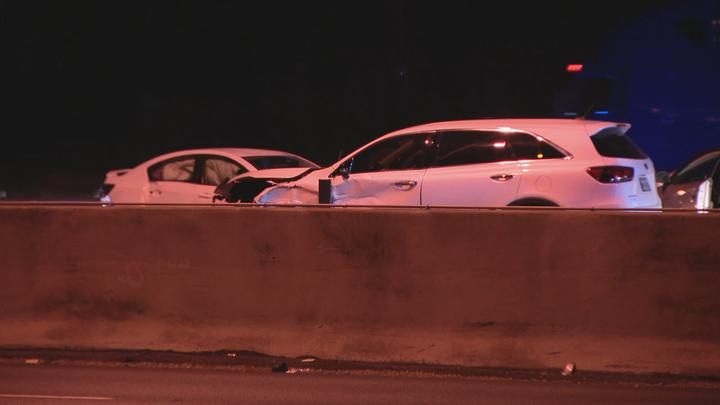 Cover for Man fatally struck while checking on crash victims on I-35 in Dallas