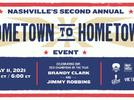 """Picture for Brandy Clark and Jimmy Robbins Honored at Second Annual """"Hometown to Hometown"""" Event Hosted by Save the Music and SongFarm.org"""