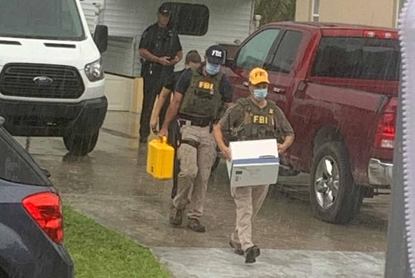 Picture for FBI concludes search of Brian Laundrie's home; removes evidence and tows away car