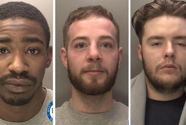 Picture for Robbery gang jailed over spree in Coventry shops