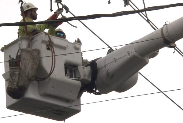 Picture for Power restoration continues across southeast Texas