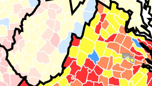 Picture for These Virginia counties fall under updated CDC mask guidance