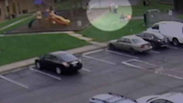 Cover for 'Extremely frightening': Video shows attempted abduction at Ohio playground
