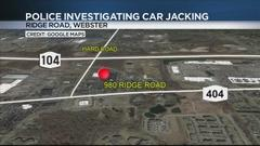 Cover for Police still searching for suspect in Webster carjacking