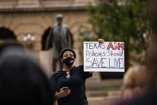 Picture for After Texas A&M Student Died from COVID-19, Students and Faculty Rally for More Safety Precautions