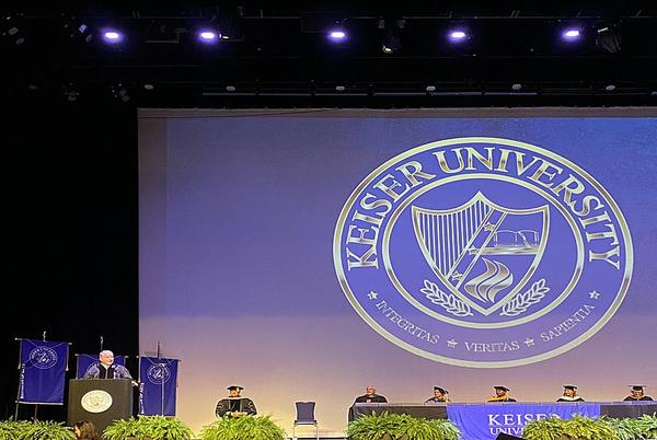 Picture for Patronis Delivers Commencement Address at Keiser University Graduation Ceremony