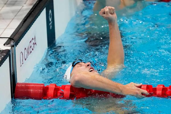 Picture for U.S. swimming's next stars show what they can do as the Americans win six early medals