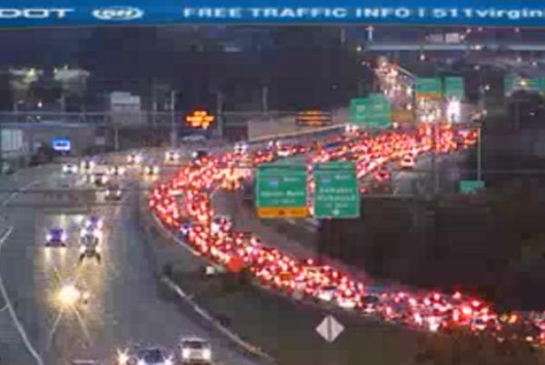 Picture for One dead and one seriously injured following crash on I-64 near Granby Street