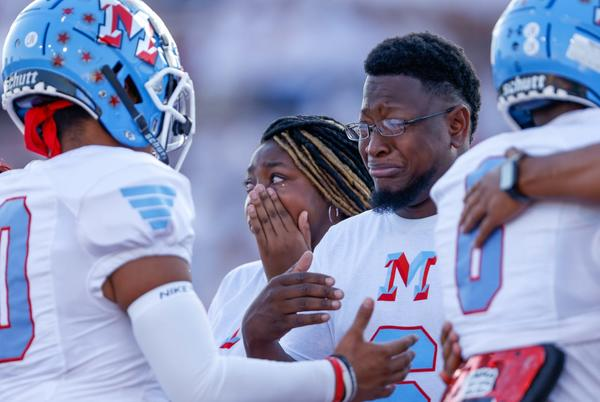 Picture for Lubbock-Cooper, Monterey show football is more than a game by honoring Trent White, family