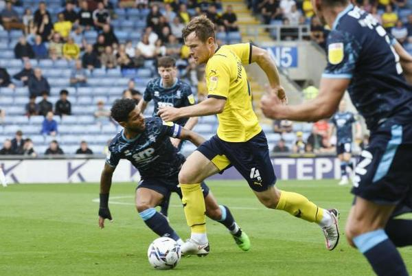 Picture for Oxford United boss asked about signing Blackpool's Jordan Thorniley