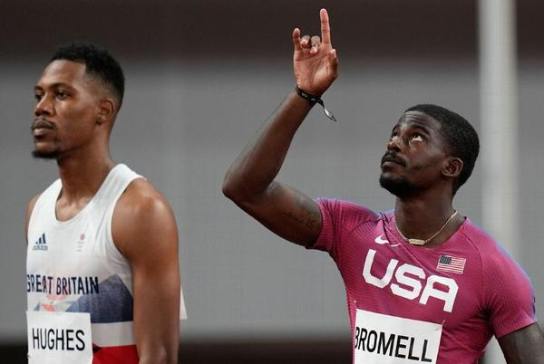 Picture for Olympics 2021 - Trayvon Bromell is off to a rocky start in the 100 meters, but comebacks are his thing
