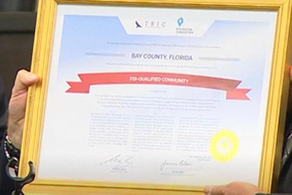 Picture for Bay County receives FDI Certification